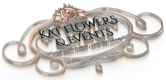 Kat Flowers & Events 3D Logo