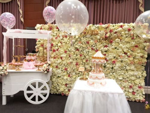 Candy cart for party