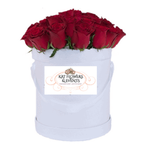 Large rose box for Valentines day