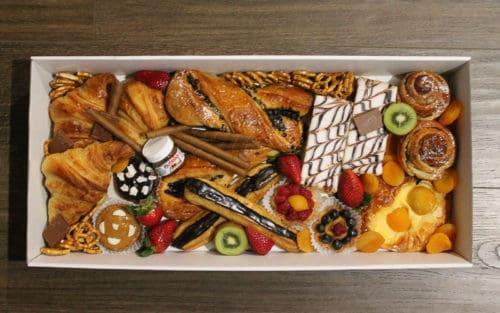 Large french savoury desert box
