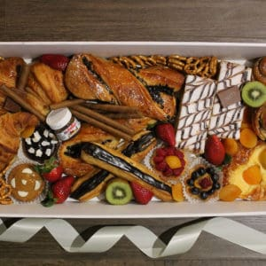 Large french savoury desert box