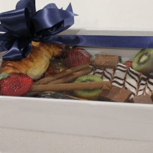 Small french savoury desert box
